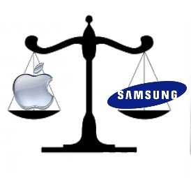 Apple vs. Samsung © Flickr/sidduz